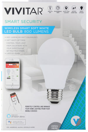 Vivitar Wireless Soft White LED Bulb