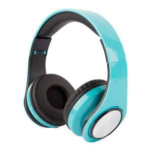 Chrome and Bright Bluetooth Headphone