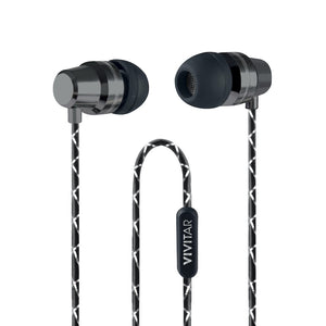 METALLIC WIRED EARBUDS