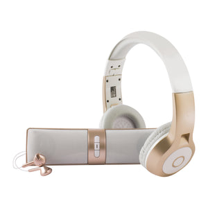 Bluetooth 3 in 1 Metallic Audio Kit