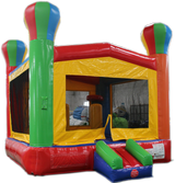 Bounce House Startup Package Square, Blue & Orange Water Slide Combo #22 Commercial Grade