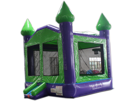 14' Green & Purple Bouncer