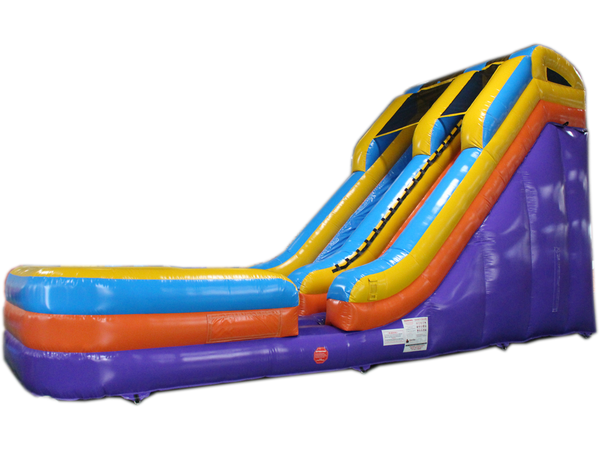 17'H Blue & Purple Water Slide