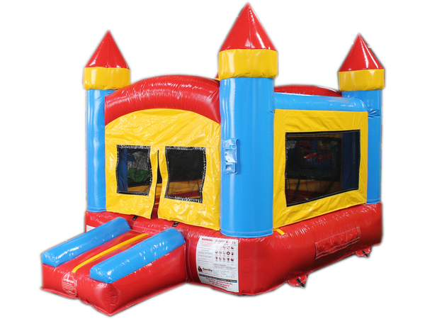 12' Indoor Red, Yellow, Blue Bouncer