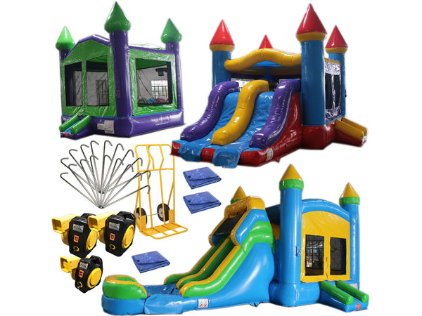 Bounce House Startup Package #11, Commercial Grade