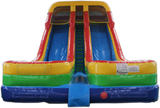 21'H Double Lane Water Slide