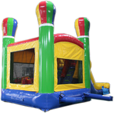 28' Balloon Bounce House Wet or Dry Water Slide Combo