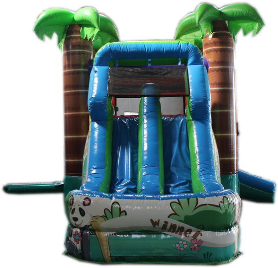 28 Crazy Tropical Bounce House Wet Or Dry Water Slide