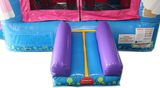 28' Fairytale Bounce House Wet or Dry Water Slide Combo