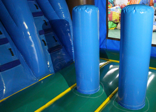 29 Tropical Helix Bounce House Wet Or Dry Water Slide