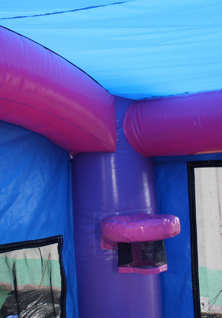 28 Pink Balloon Bounce House Wet Or Dry Water Slide Combo
