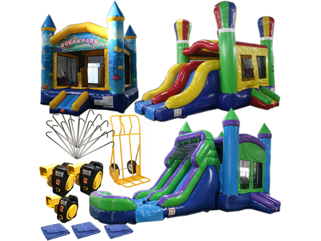 Bounce House Startup Package 18 Commercial Grade