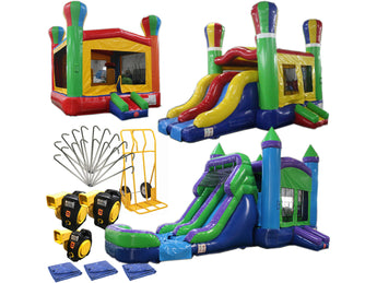 Bounce House Startup Package Balloon, Commercial Grade