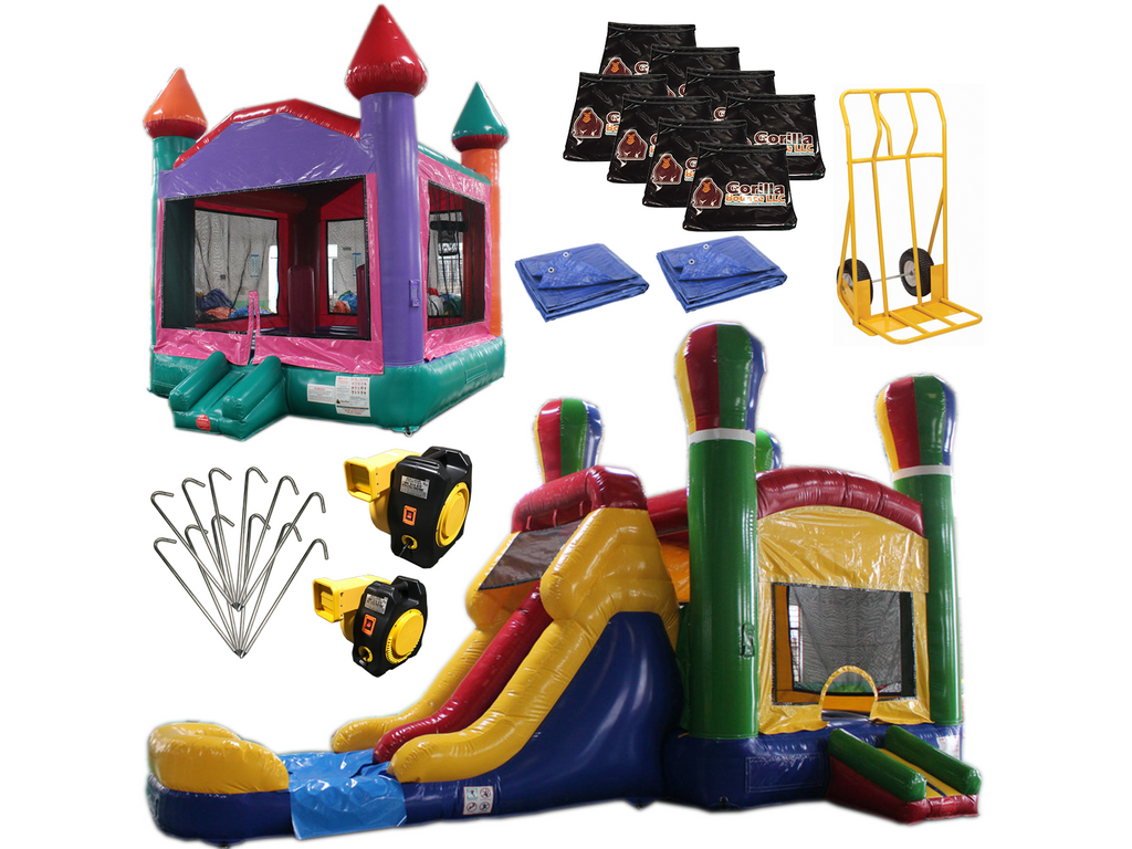 Bounce House Startup Package 6 Commercial Grade Gorilla