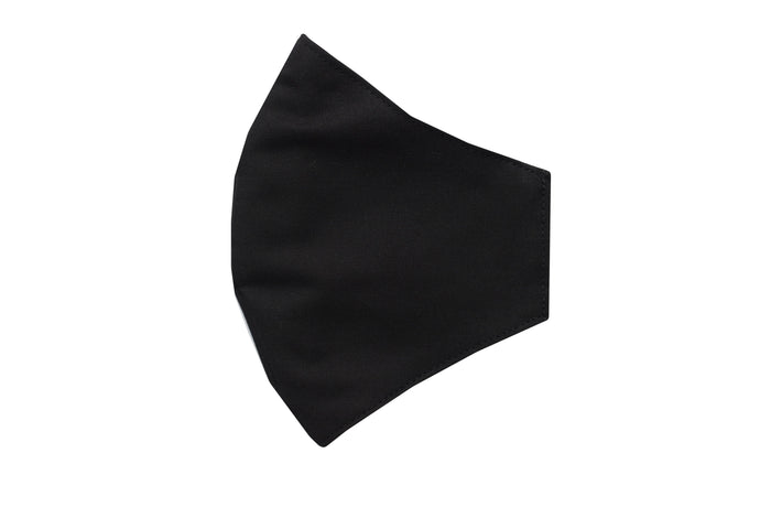 Set 10 Cotton face shell black masks