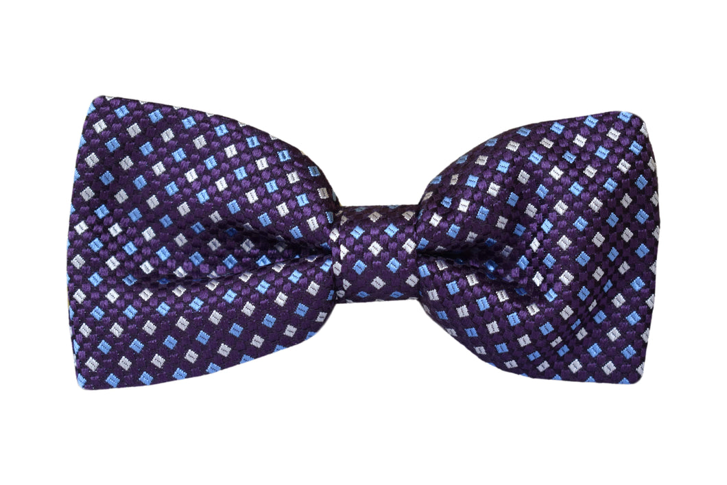 Classic Pretied Bow tie purple - Arese