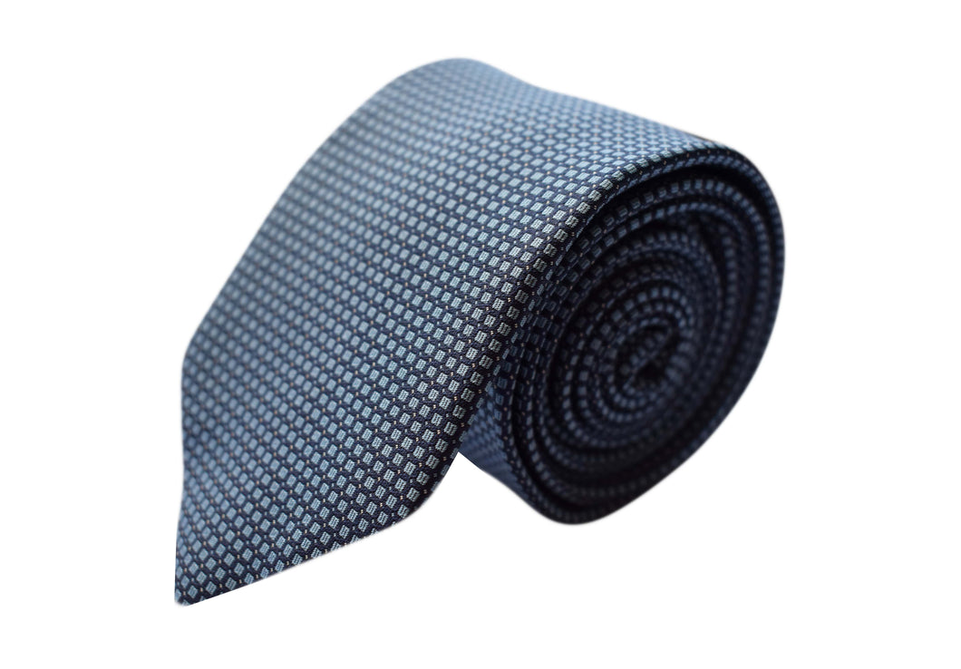 3 folds classic navy tie - Argegno
