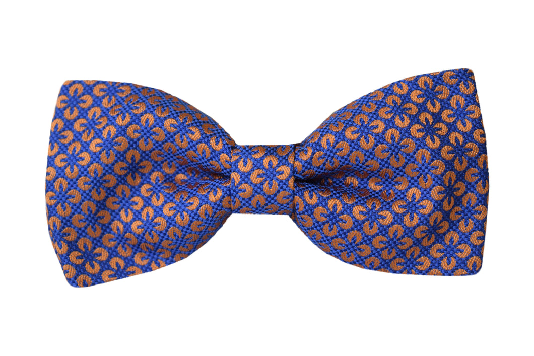 Classic Pretied Bow tie blue - Sciacca