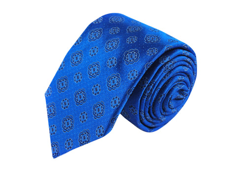 Image of Medallion 3 folds tie jacquard - Mincio
