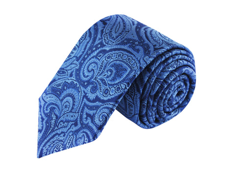 Image of Paisley 3 folds tie jacquard - Scicli