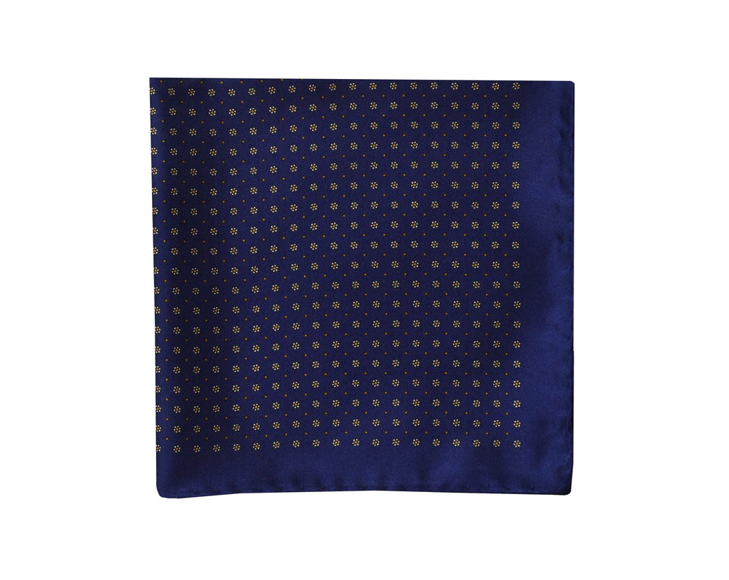 Classic navy Pocket Square - Zurigo