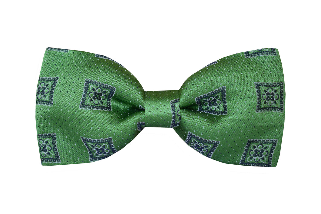 Medalion Pretied Bow tie green - Portese