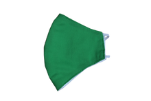 Cotton face shell green mask