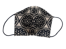 Jacquard shell face mask - Rosone