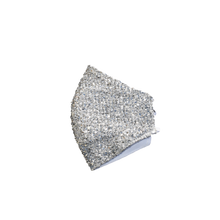 Face shell mask Silver
