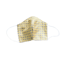 Shell Mask yellow 100% silk - Mineo