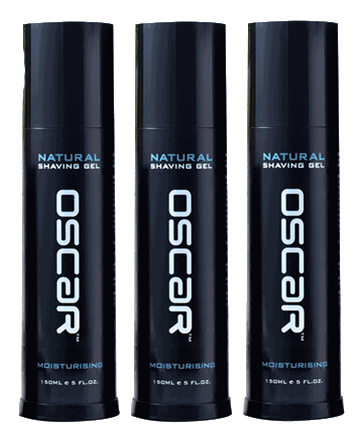 OSCAR Natural Moisturising Shaving Gel