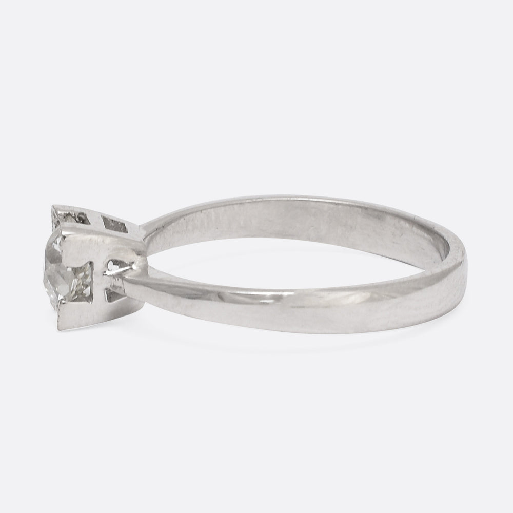 .66ct Old European Cut Diamond Engagement Ring by Butter Lane