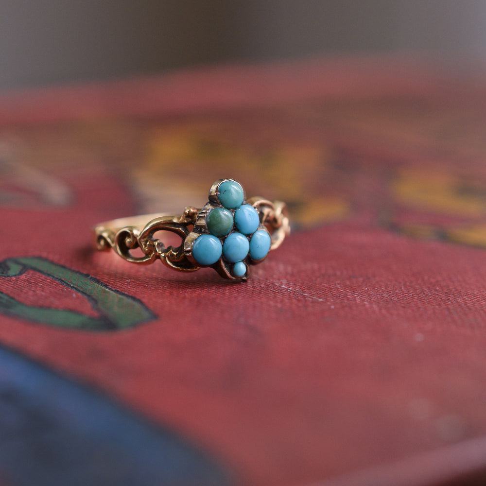 Early Victorian Turquoise