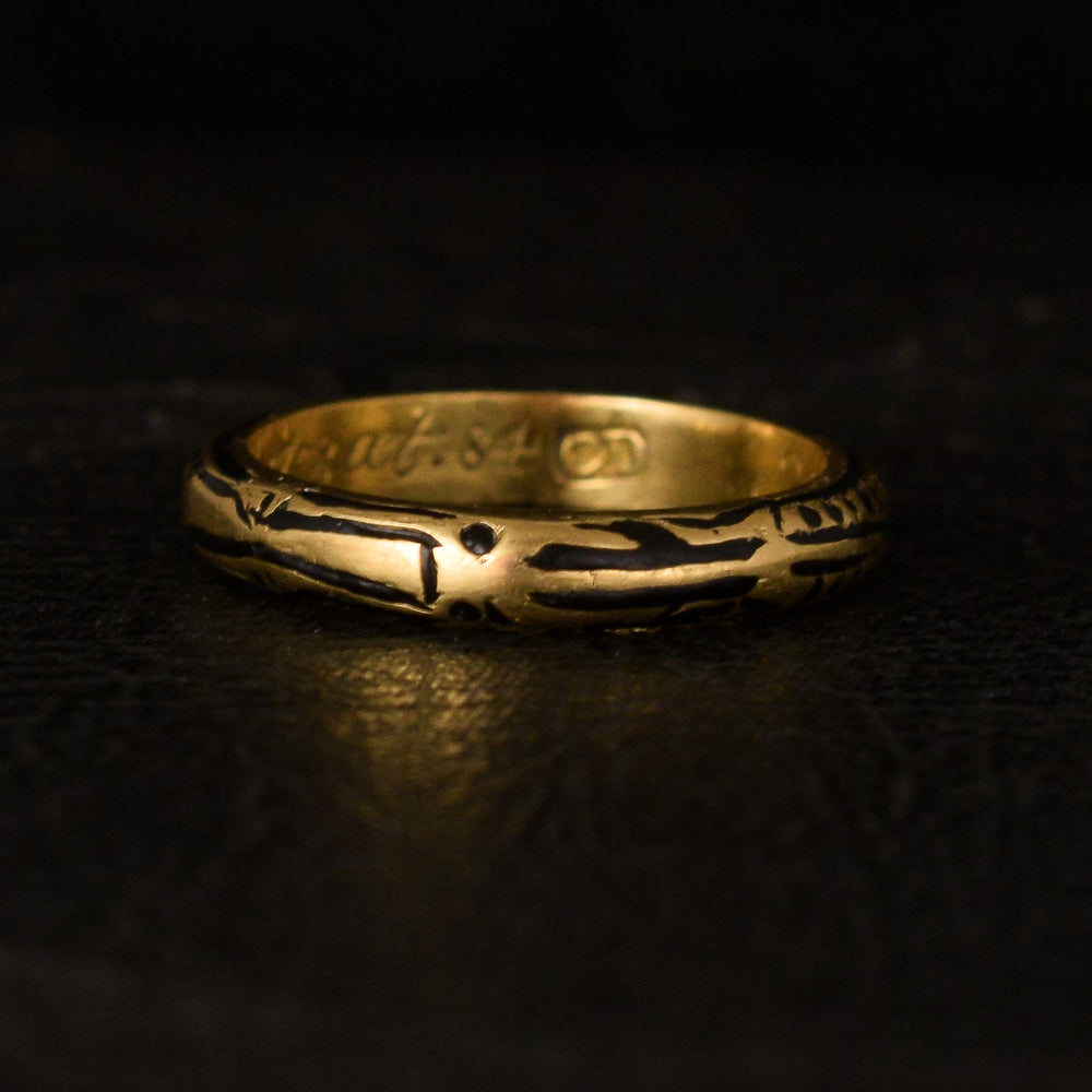 18th Century Full Body Skeleton Ring