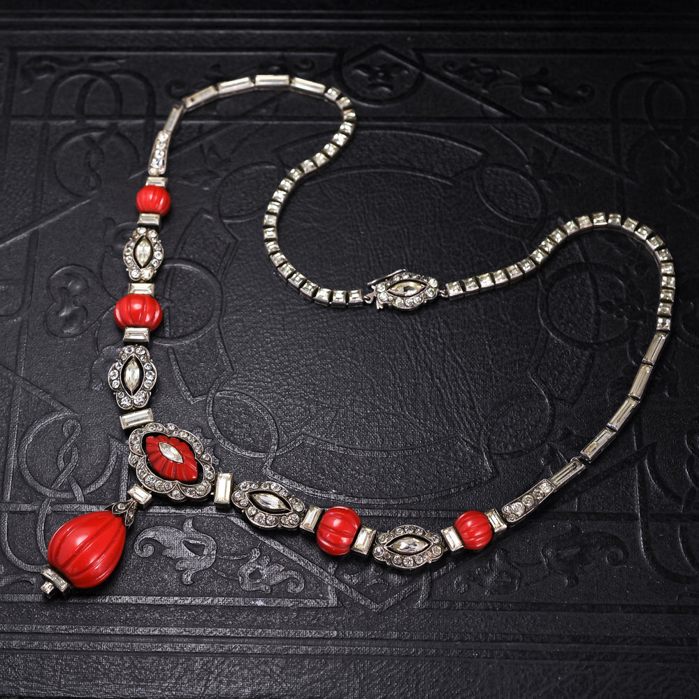 Art Deco Knoll & Pregizer Necklace