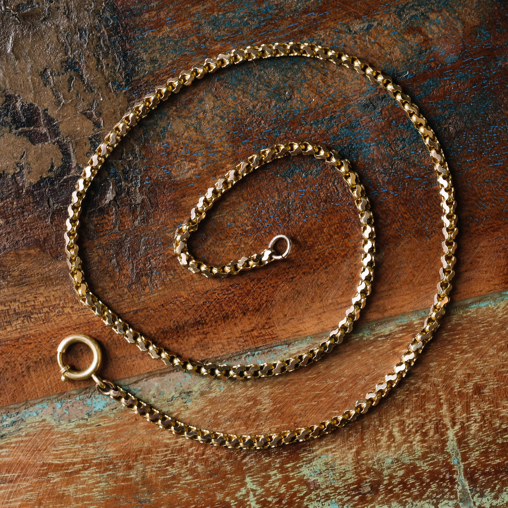 Victorian Fancy S-Link Chain Necklace