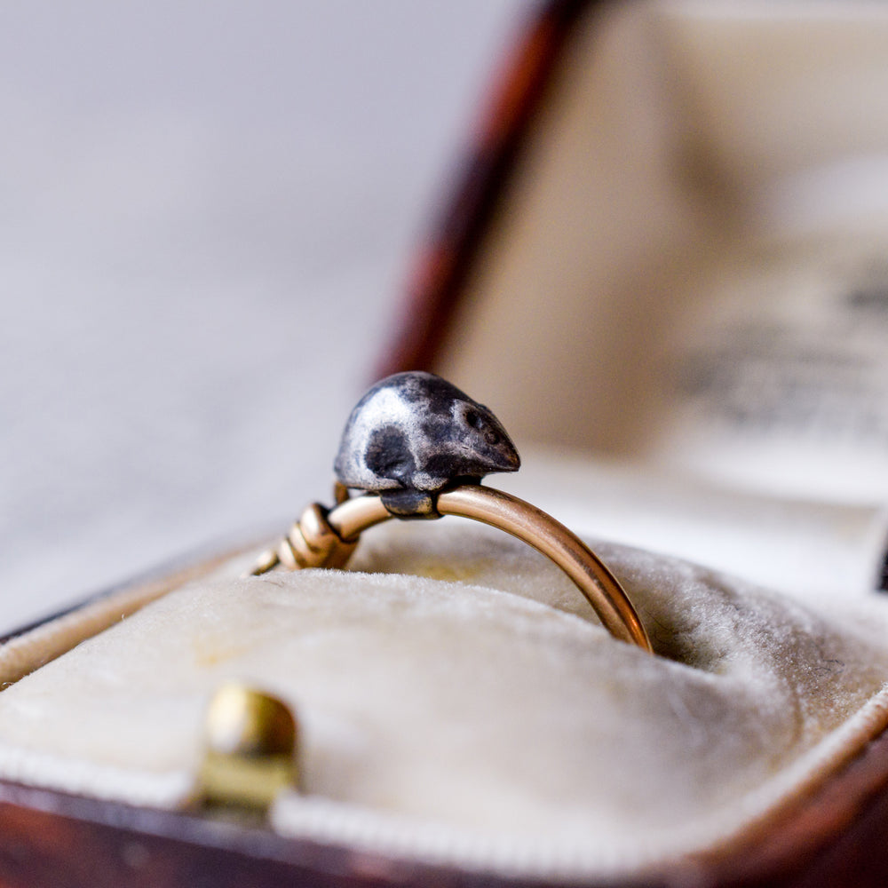 Victorian Mouse Ring