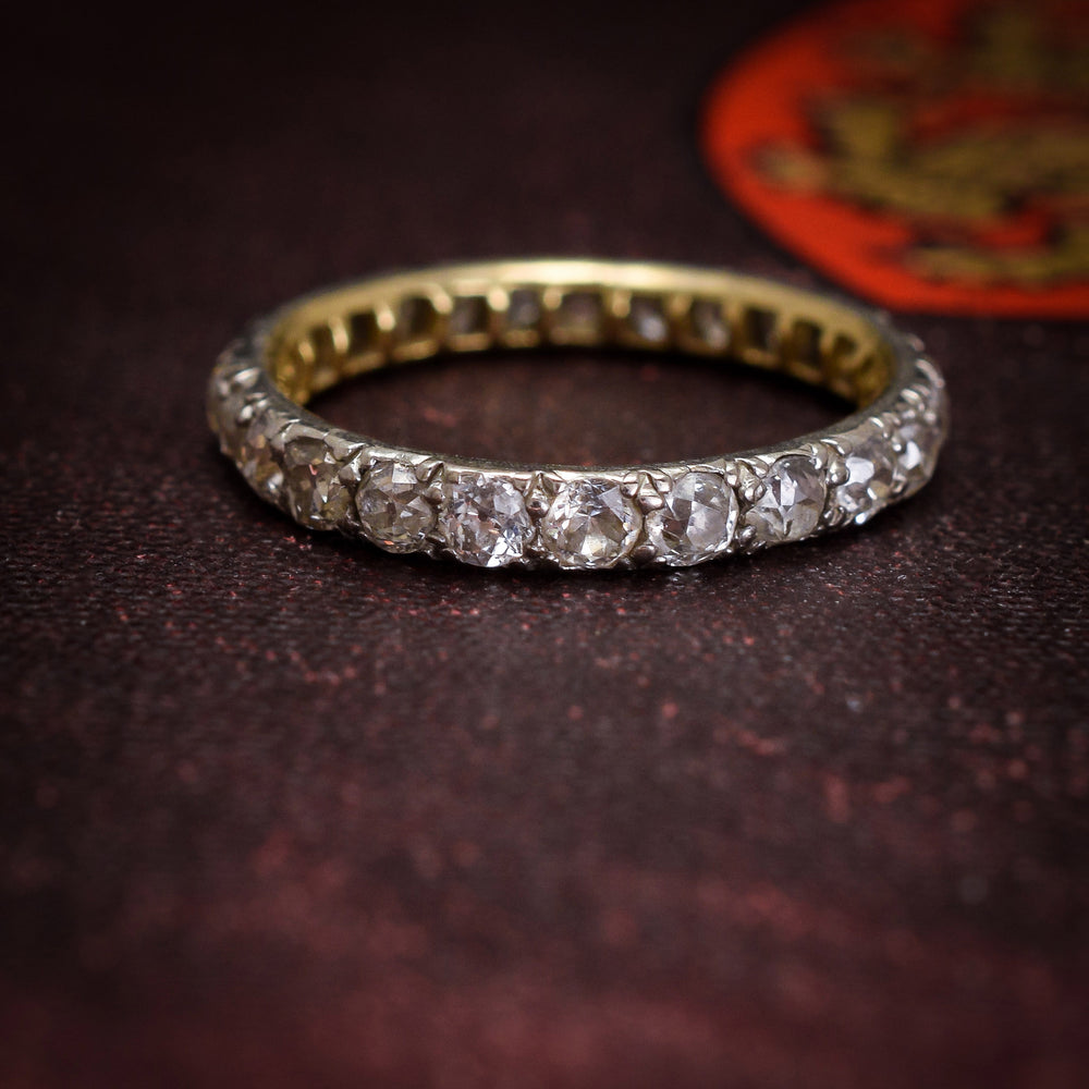 Early Victorian 1.25ct Diamond Eternity Ring