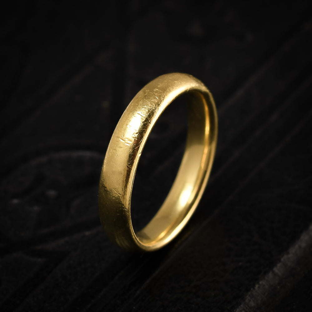 Vintage Charles Green & Son 18k Gold Wedding Band
