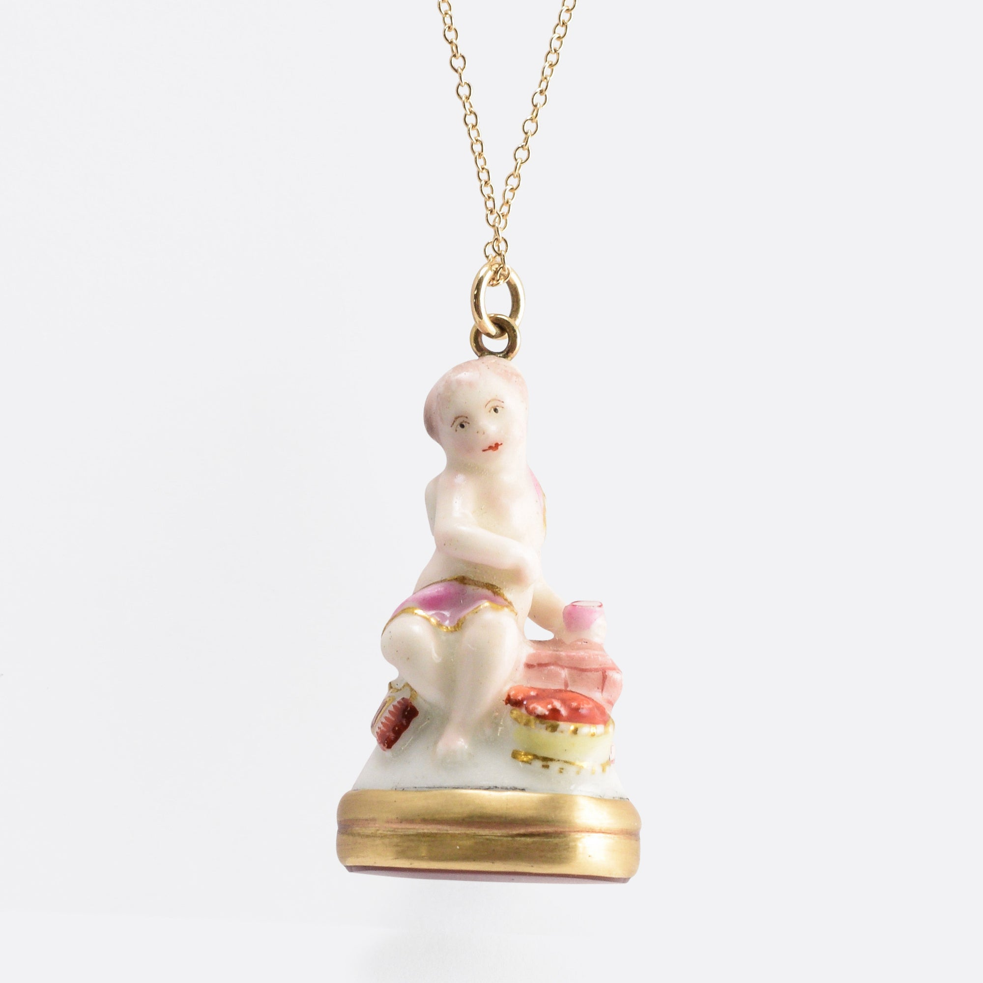 collections pendant porcelain necklace quercus barry format elisabeth gallery