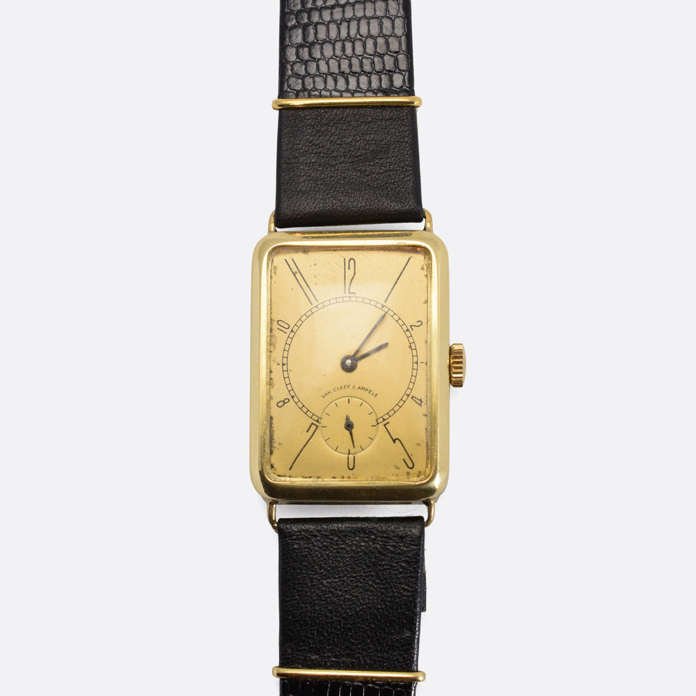 1930s Van Cleef & Arpels Gold Wristwatch