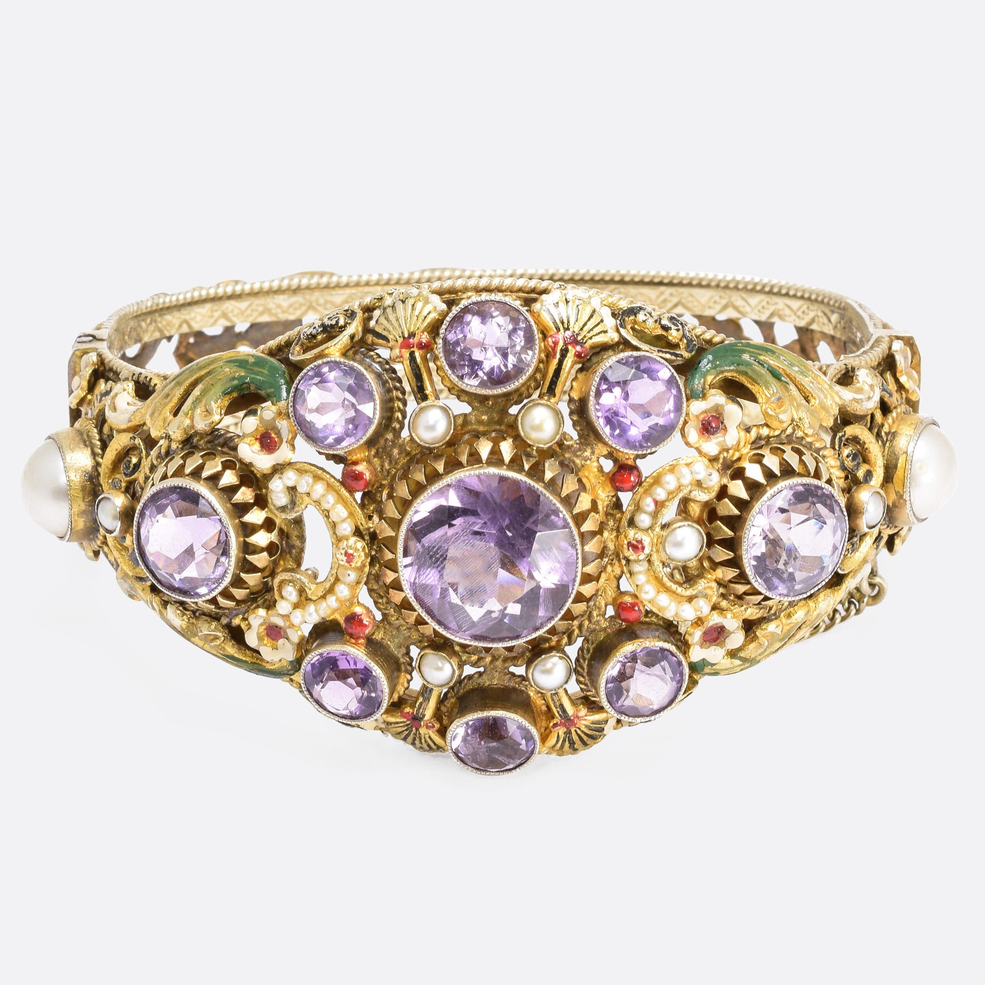 amethyst bangles s bangle friedman filigree jewelers bracelet filagree product