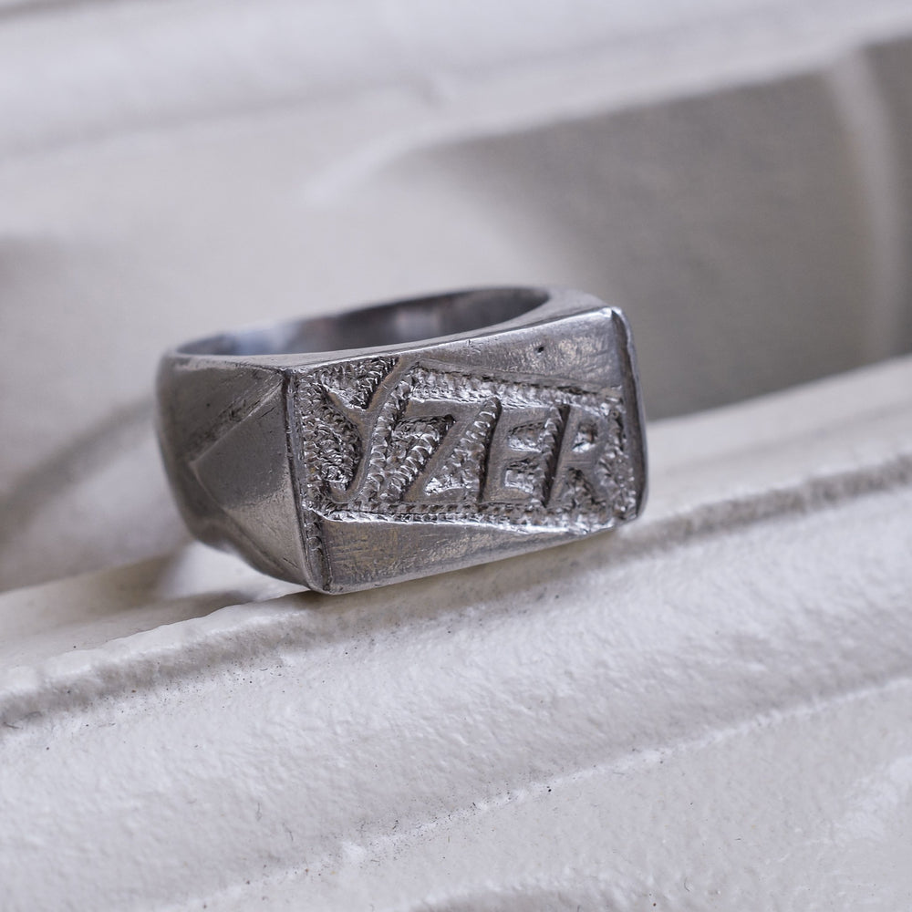 WW1 YZER Trench Art Signet Ring