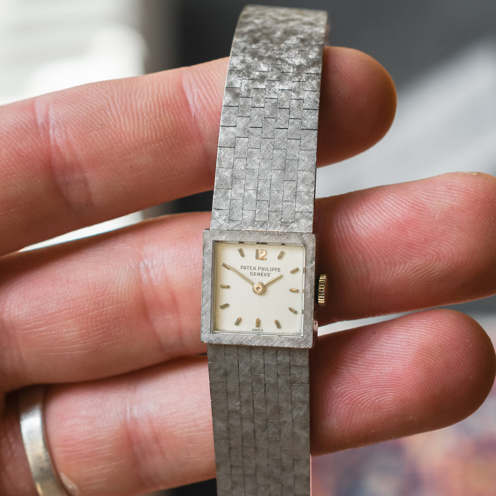 1970s 18k White Gold Patek Philippe Wristwatch