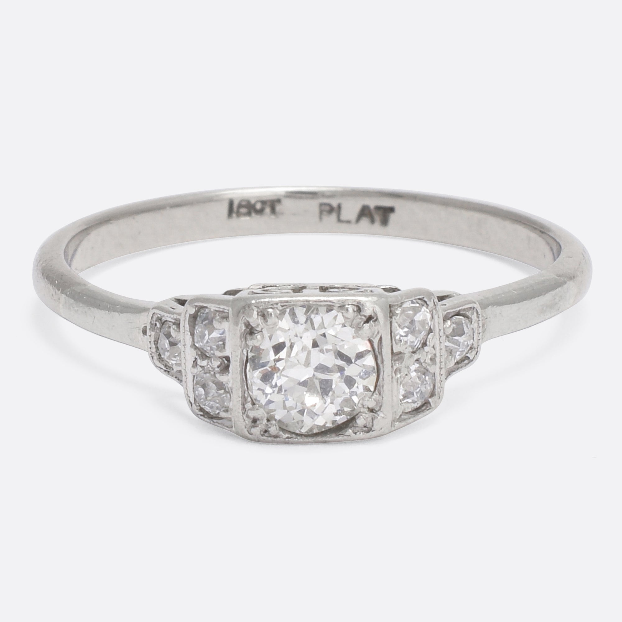 engagement stone deco single ring jewellery butter rings products diamond art antiques lane
