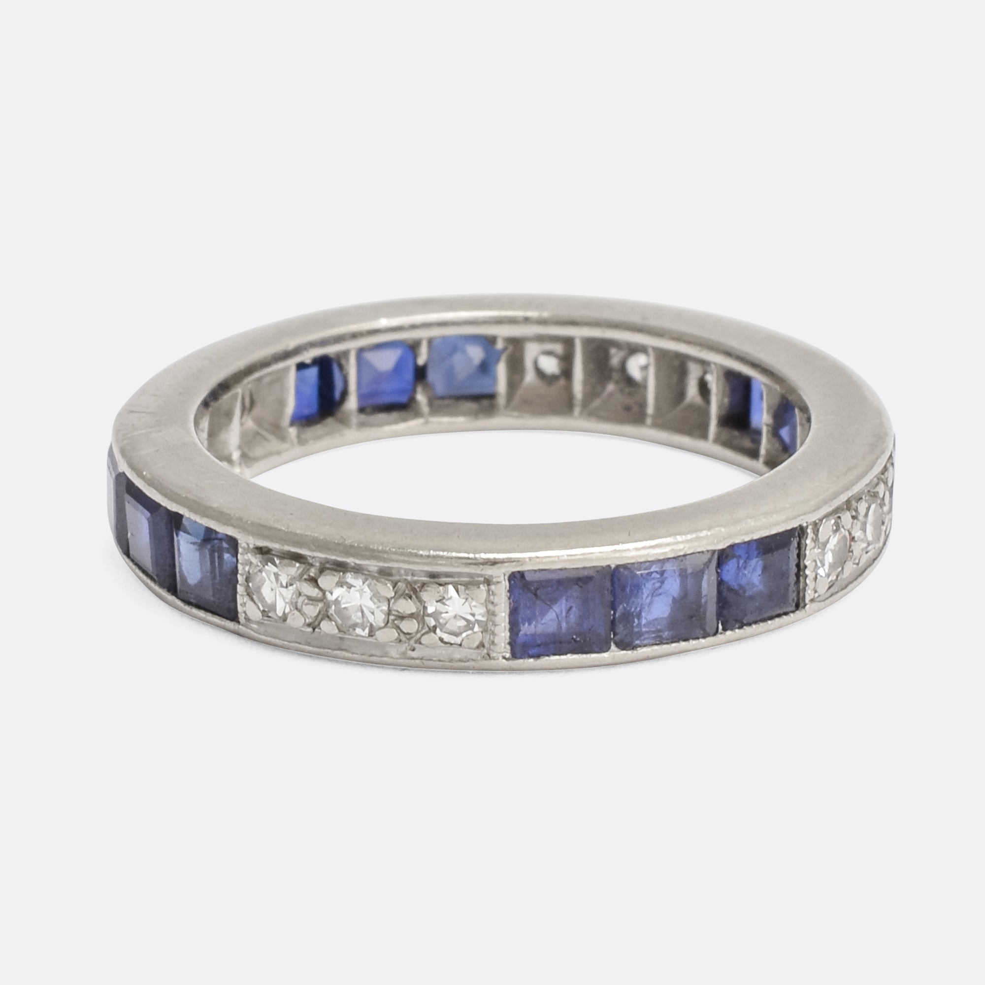 bands product blue sapphire eternity band