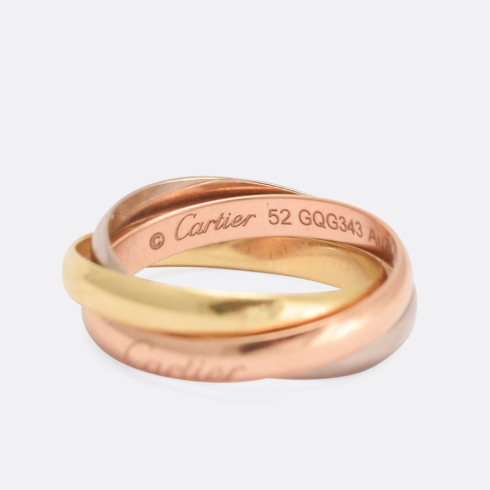 Cartier Trilogy Russian Wedding Band