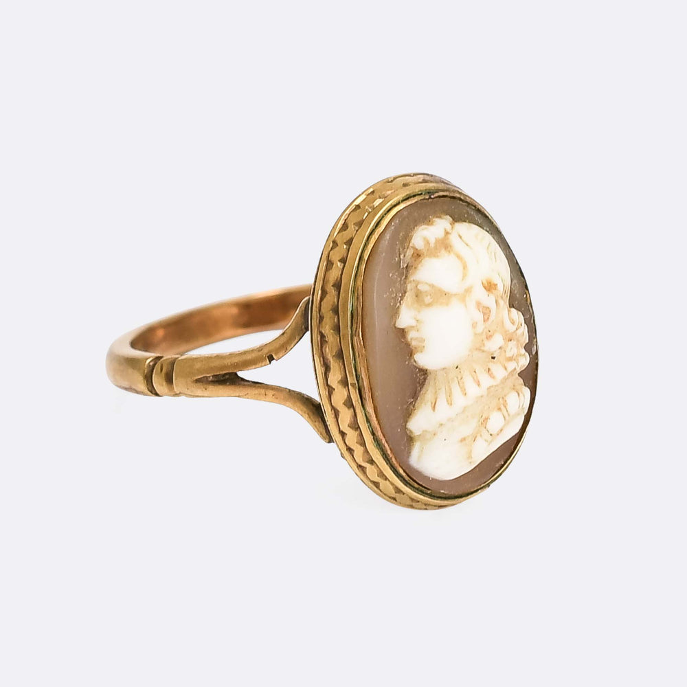 Georgian John Milton Cameo Ring