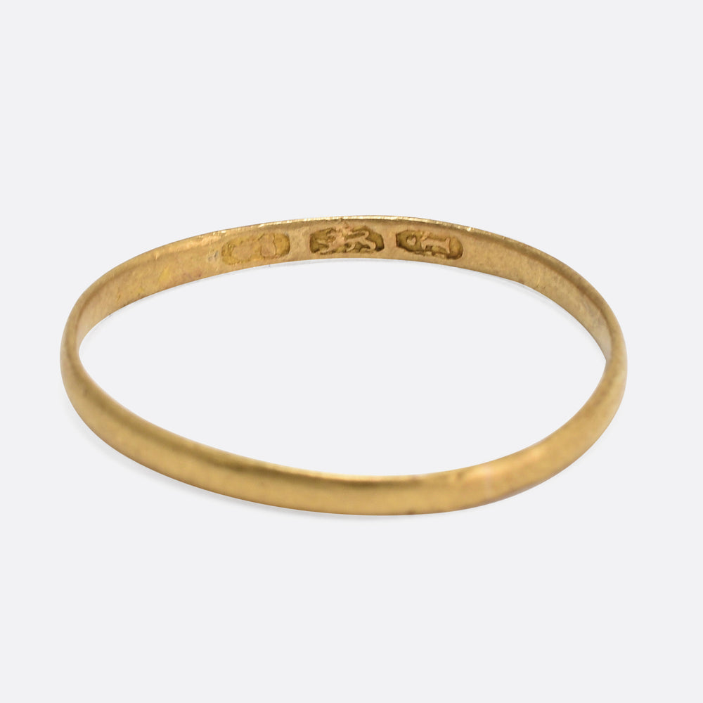 Georgian 18k Gold