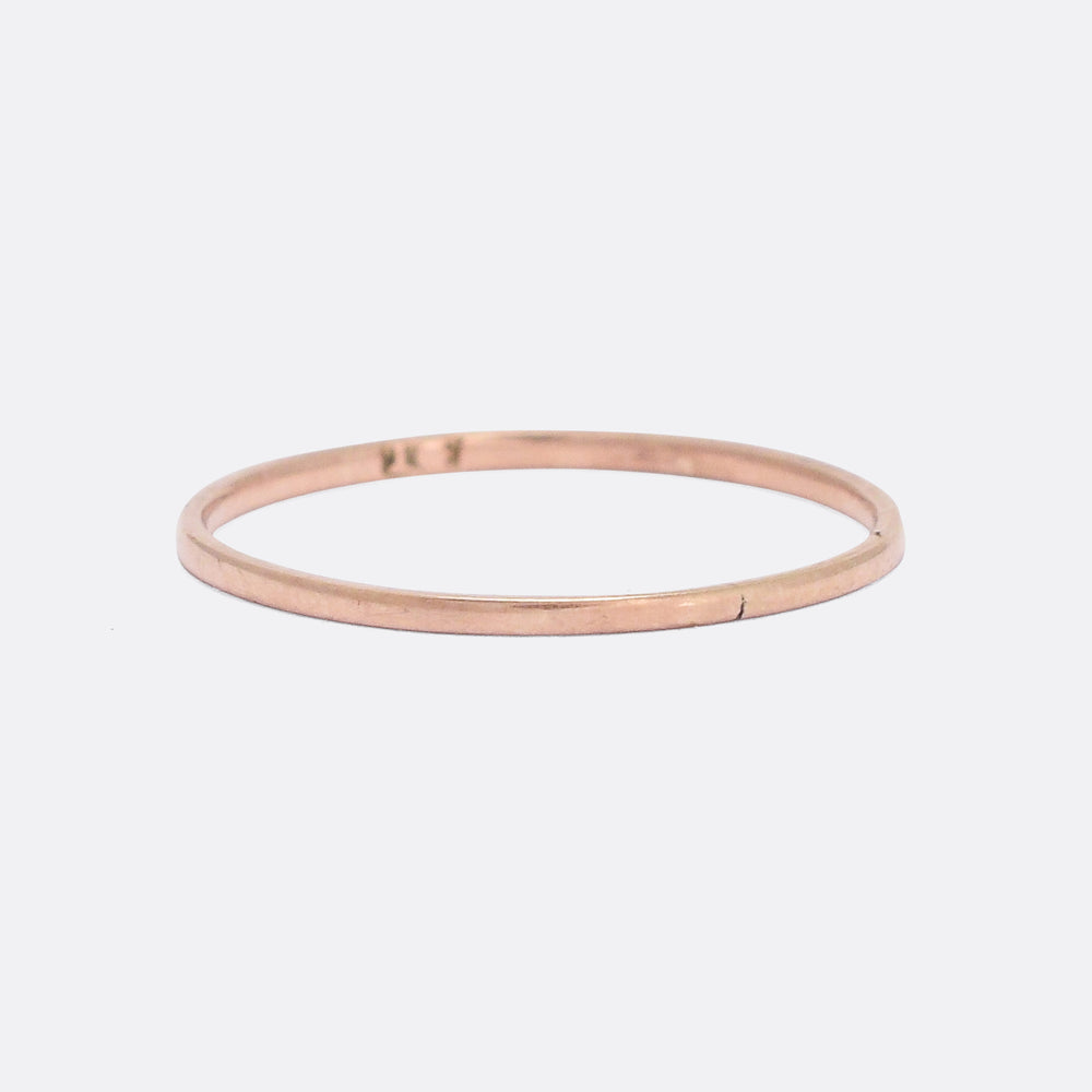 Georgian 18k Gold Wedding Band